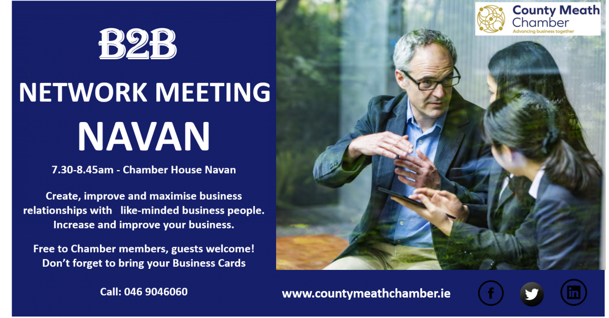 B2B Networking Meeting in Navan