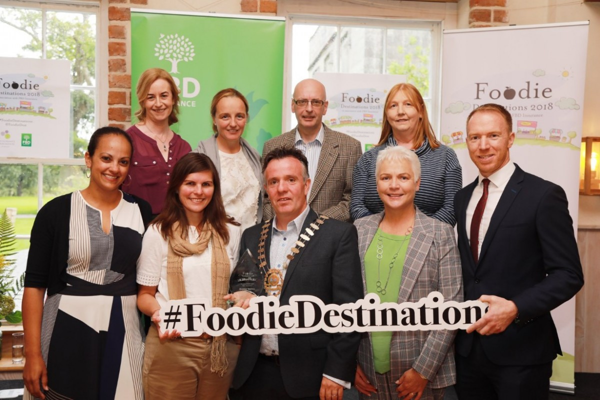 Boyne Valley - Scoop 2nd place in Restaurant Association of Ireland #FoodieDestinations - The prizes continue to roll for the food producers, restaunteers, venues and the Boyne Valley Food Series
