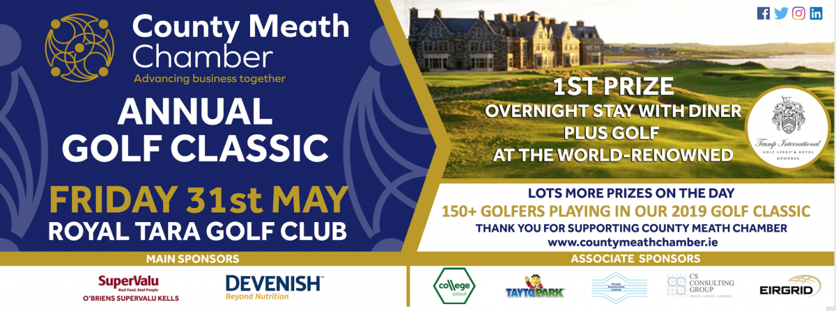County Meath Chamber Golf Classic - Fri 31st May