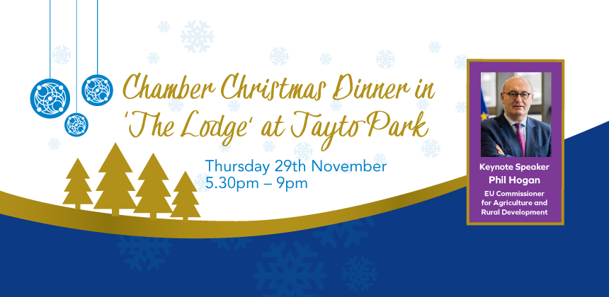 Chamber Christmas Dinner in the Lodge at Tayto