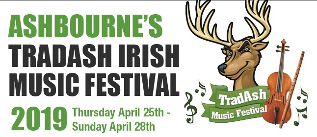 Ashbourne's TradAsh Irish Music Festival (25th-28th April)