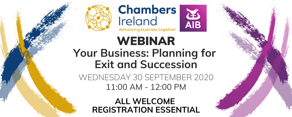 Webinar - Your Business: Planning for Exit and Succession